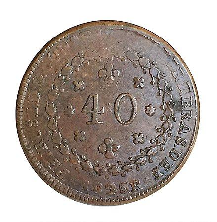 Moeda Antiga do Brasil 40 Réis 1825R