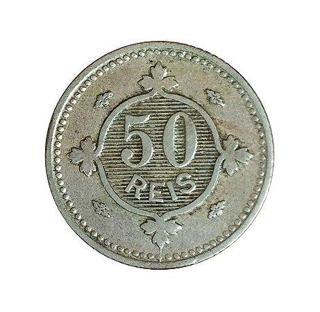 Moeda Antiga de Portugal 50 Réis 1900