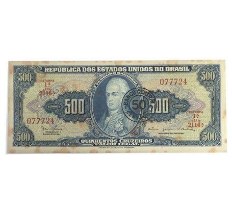 Cédula Antiga do Brasil 50 Centavos 1967
