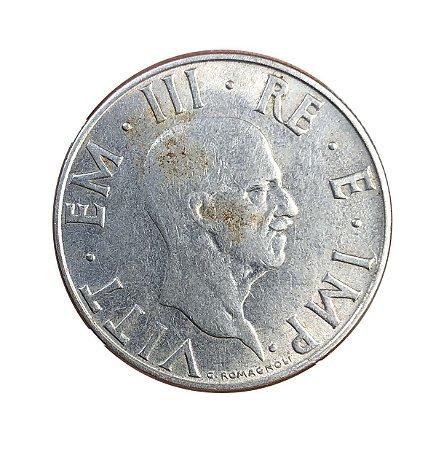 Moeda Antiga da Itália 2 Liras 1940