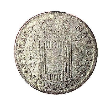Moeda Antiga do Brasil 320 Réis 1802 R