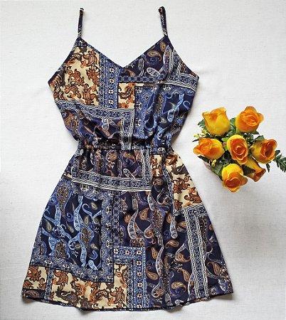 Vestido de Alcinha Viscose