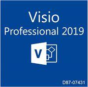 Microsoft Visio Profissional 2019 D87-07431