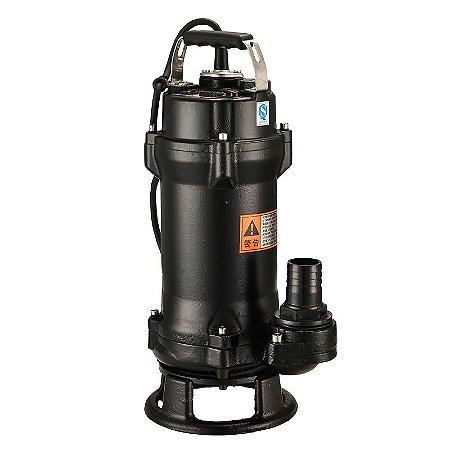 Bomba de Esgoto com Triturador Lepono Wq12 1,5cv Mono 220v