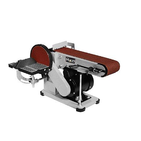 Lixadeira Razi De Fita e Disco 150mm 375w 220v