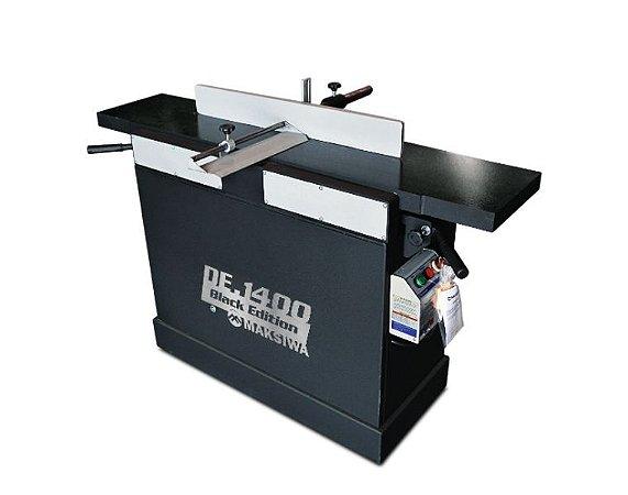 Desempenadeira Maksiwa Com 3 Facas 1400mm  De.1400 Black 2cv Trifasica