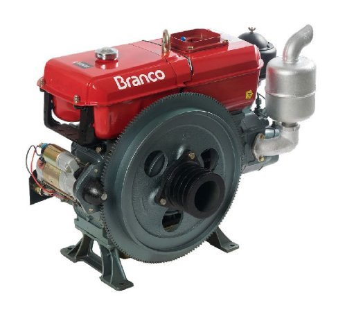 Motor A Diesel Branco Bd-52.0 E 52,5cv 1800rpm 2543cc