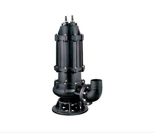 Bomba Submersivel Trituradora Para Esgoto WQ12-10-1.1 1,5hp Trif. 380V Lepono