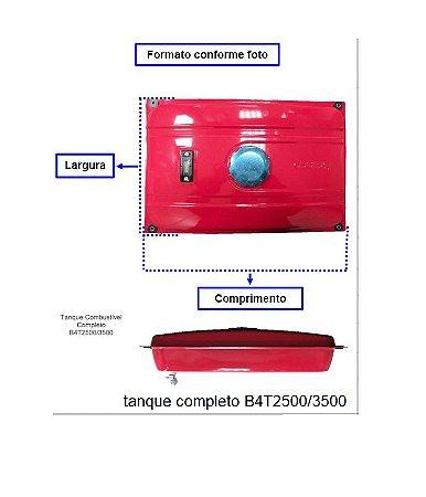 Peça Tanque Para Gerador Branco Gasolina B4t-2500/3500 19814950