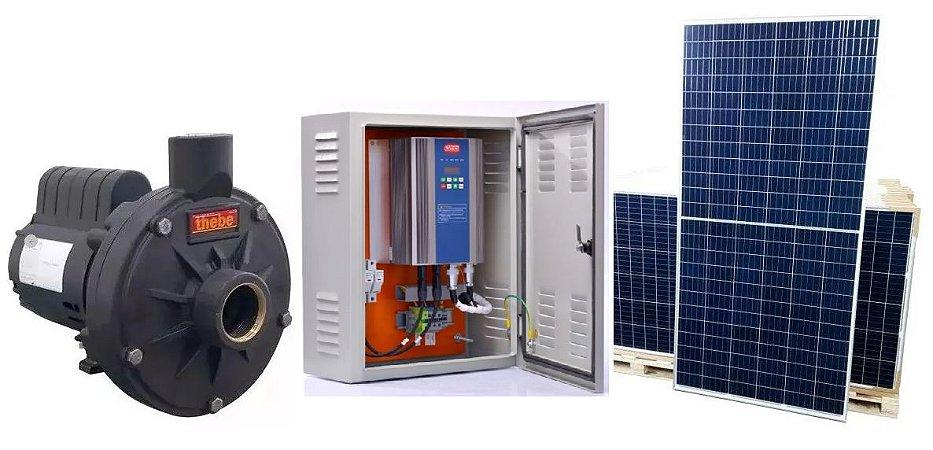 Kit Bomba Solar Ecaros Th-16 P 1cv Weg + Quadro Inversor + 6 Paineis 340w