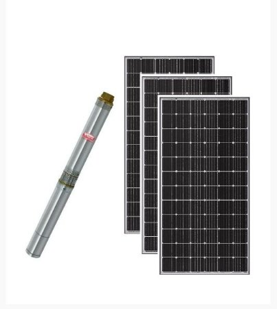 Kit Bomba Dagua Solar Thebe Ecaros 3tsm Ce 13 Estagios 750w 108v + 3 Placas