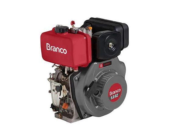 Motor A Diesel BD 7 cv G2 Partida Eletrica - Branco