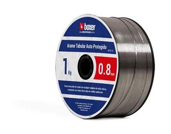 Arame De Solda Mig Sem Gás 0.8mm 1KG - BOXER