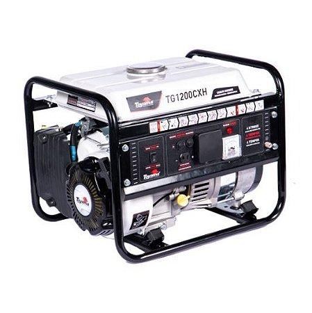 Gerador A Gasolina Tg1200cxh Monofasico 220v 1100w Partida Manual - Toyama