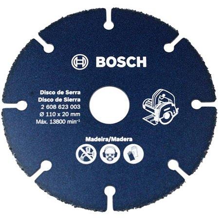 Disco de Corte Serra Mármore 110mm para cortar Madeira Bosch 3003