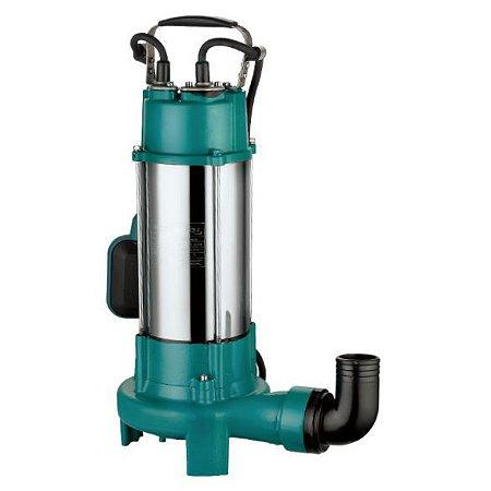Bomba Limpa Fossa Esgoto C/ Triturador Lepono XSP 2,4cv monofásica 220v