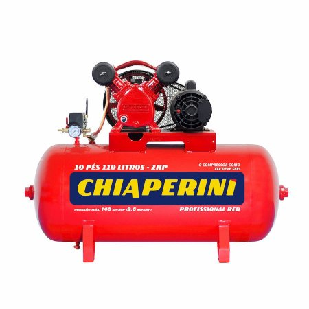 Compressor Ar 10 PÉS 10/110 Red Rch 110l C/Mm 2hp 110/220v Ip2 10 Red