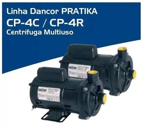 Bomba De Água Centrifuga 1/2cv Cp-4c Mono 220v Dancor