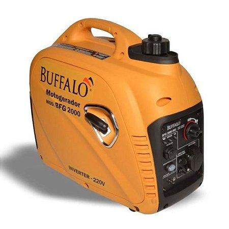 Motogerador Buffalo Gasolina Bfg 2000 Inverter Monofasico 220v Partida Manual