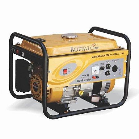 Motogerador Buffalo Gasolina BFG 3250 7cv 110/220v Partida Manual