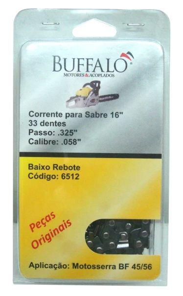 Corrente Em Blister Para Motosserra BF45 BF56 Buffalo