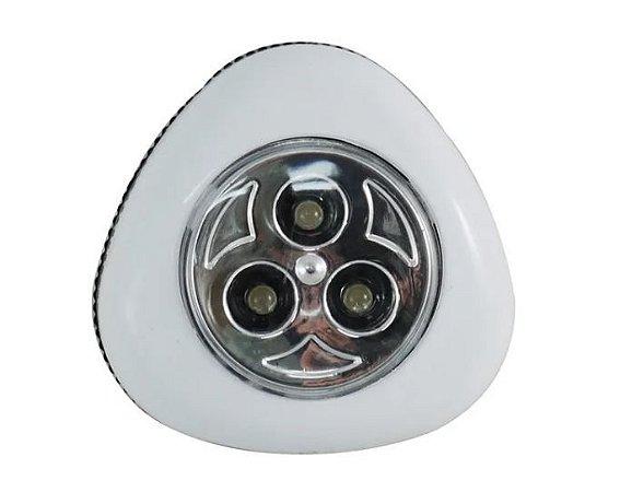 Luminária Super Led Touch  (Led Click) Branca