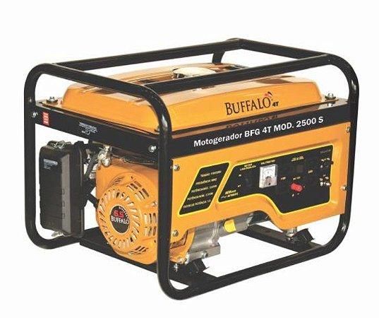 Gerador Buffalo A Gasolina Bfge 2500 Std 6,5cv Mono P. Elet