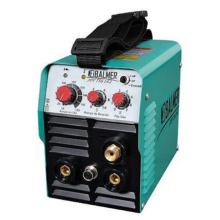 Máquina de Solda Portátil Inversora com Tocha Tig 220v Balmer