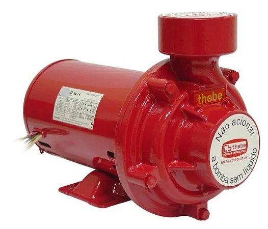 Bomba De água Para Incêndio Thebe Thi-13 1cv Motor Weg Trifasico 220/380v