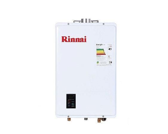 Aquecedor Rinnai Digital a Gás Glp Reu-1602 Feh Ch. 60mm