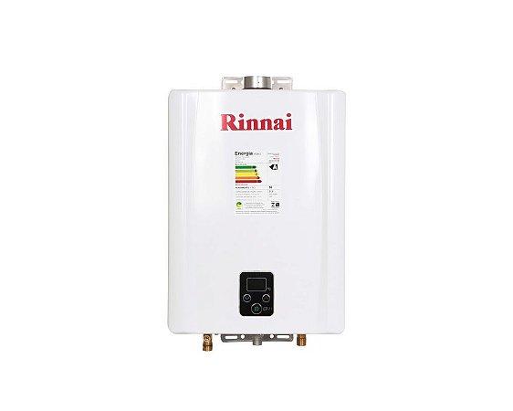 Aquecedor Rinnai Digital A GÁS Glp Reu-E21 Fehb 21l Ch. 60mm