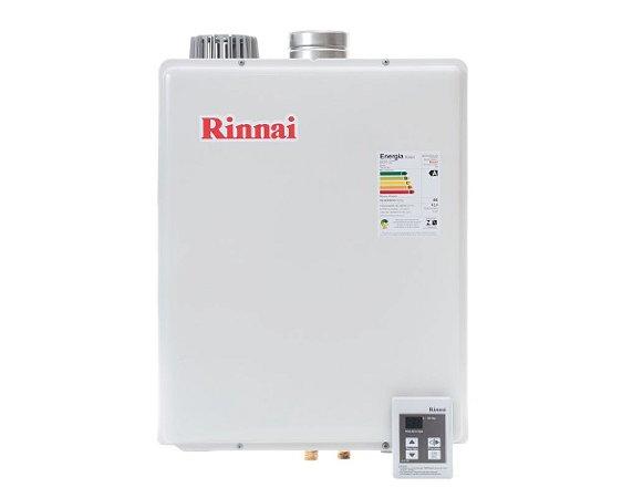 Aquecedor Rinnai Digital a Gás Glp Reu-E42 Feab 42,5l Ch. 100mm