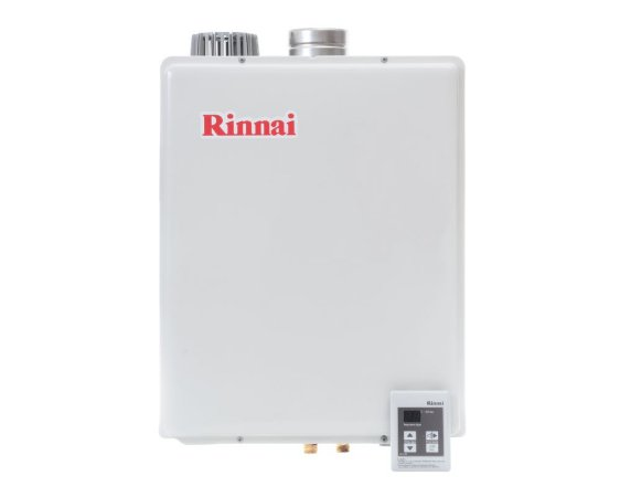 Aquecedor Rinnai Digital A GÁS Gn Reu-E48 Feab 43,5l Ch. 100mm