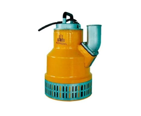 Bomba Submersivel Para Agua Suja Asb-750 7,5hp Hidrosul 220/380v