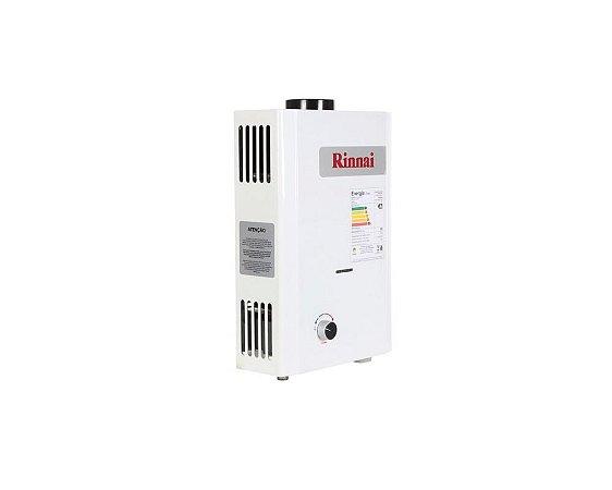 Aquecedor Rinnai a Gás Glp M07 BP Baixa Pressão Reu-M070bp 7l Ch. 90mm