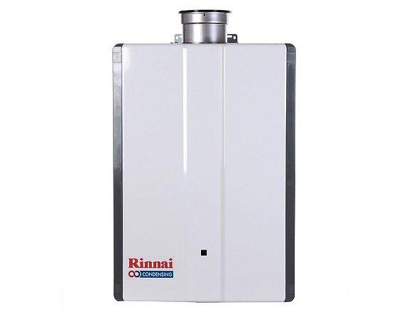 Aquecedor Rinnai a Gás Glp Reu-Km3237 Ffud-E Condensing 42,5l Alta Potencia