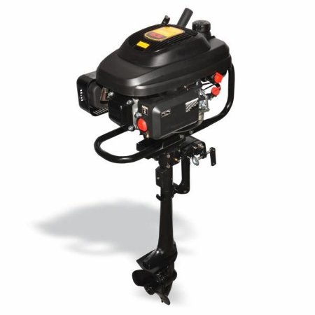 Motor De Popa Outboard BFG Partida Manual Buffalo 4T 6.5cv