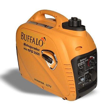 Gerador Buffalo Gasolina Bfg 2000 Inverter 2kw Mono 127v P. Manual