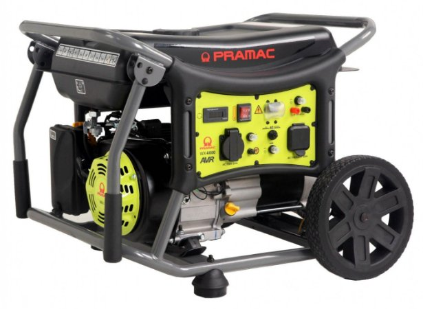 Gerador Pramac Gasolina Wx4000 4kva Avr Monofasico 110/220v