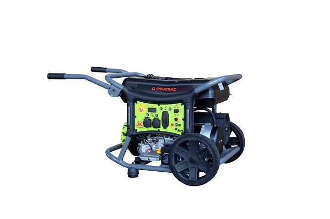Gerador Pramac Gasolina Wx6500 6,3kva Avr Monofasico 110/220v
