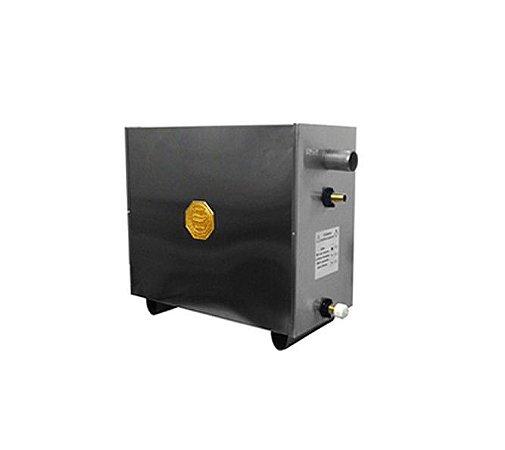 Sauna A Vapor Impercap Master  Eletrica 18kw Digital Inox Trif 220v