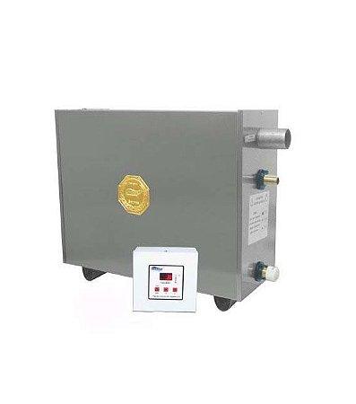 Sauna A Vapor Impercap Master Profissional 27kw Digital Inox Trif 380v
