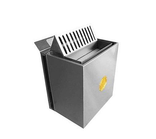 Sauna Seca Eletrica Impercap 7,5kw Fix Mix Digital Inox Trifasica 220v