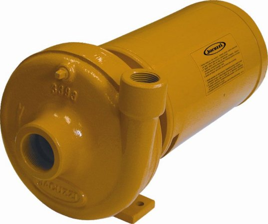Bomba Centrifuga Monoestagio Jacuzzi 1nds1 1cv Monofasico 127/220v