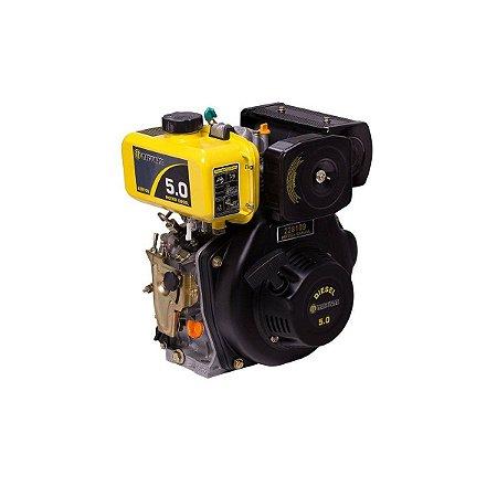Motor Matsuyama Diesel 5cv Partida Elétrica