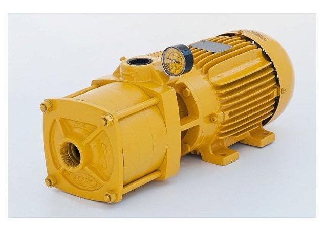 Bomba Centrifuga Multiestagio Jacuzzi Mc 75mc3-T 7,5cv Trifasico 220/380v