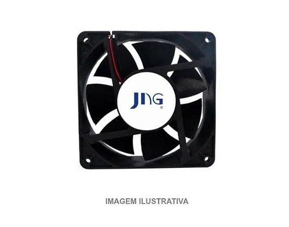 Ventoinha Ventilador Coller Fan Jng 80x80x38 Bivolt FZY8038MBL