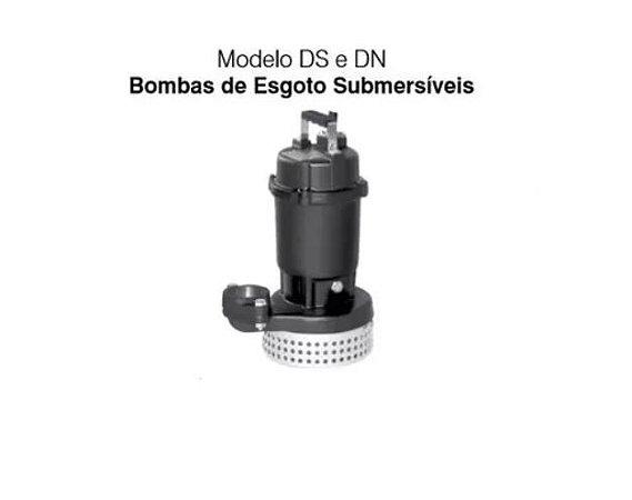 Bomba De Água Submersa Ebara 1,0cv 50ds6.75 Trifasico 380/440v