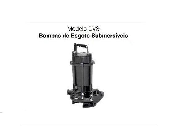 Bomba De Agua Submersa Ebara 1cv 50DVS6.75 Trifasico 220V