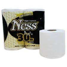 Papel Higiênico Ness - Folha Dupla - Neutro
